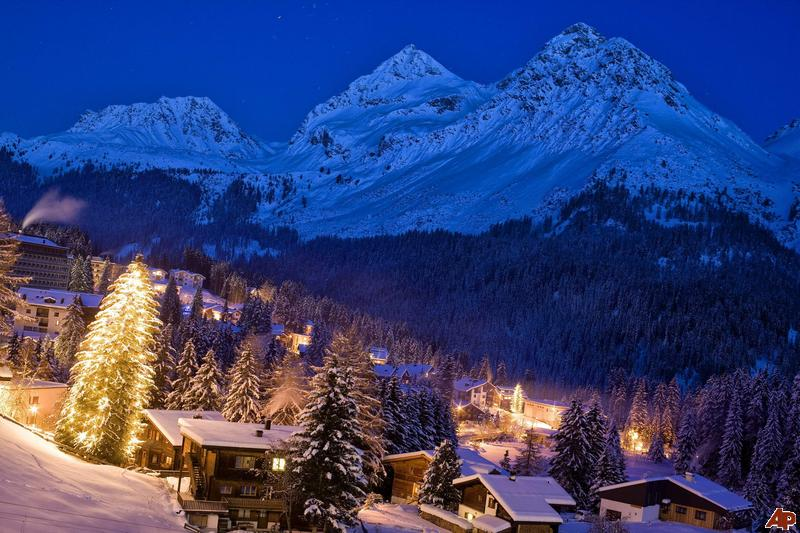 pictures of switzerland christmas