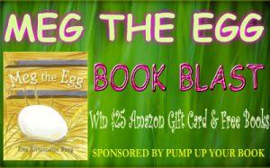 Meg the Egg banner