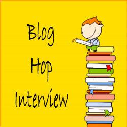 Blog Hop Interview button