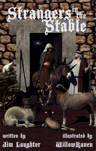 Strangers in the Stable by Jim Laughter promo