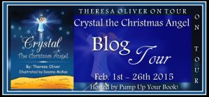 Crystal the Christmas Angel banner